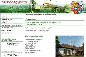 Szabadegyháza hivatalos oldala