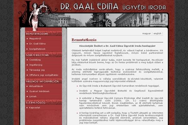 dr. Gaál Edina ügyvédi iroda