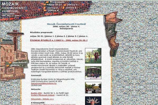 Mozaik fesztivál - 2003, 2004