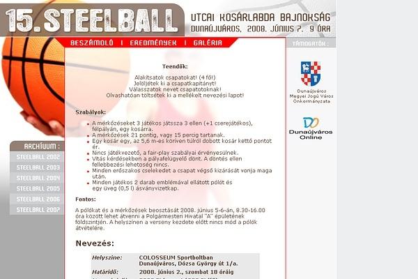 Steelball 2008
