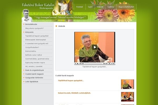 Feketéné Bokor Katalin fitoterapeuta